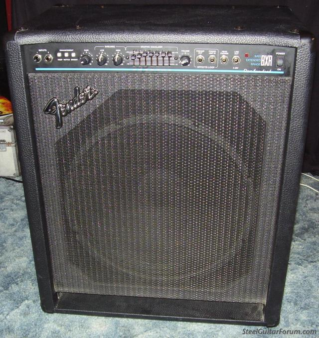 fender bxr 100 watt bass amp for sale the steel guitar forum. Black Bedroom Furniture Sets. Home Design Ideas