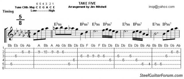 """""""Take 5"""" en C6 6952_takefive_1"""