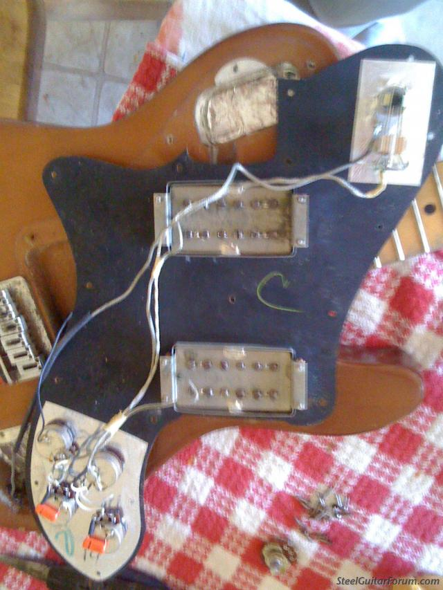 the steel guitar forum view topic 72 telecaster custom wiring here s an overall so that you might be able to see which wires are coming and going sorry it s not clearer when i took these i wasn t anticipating them