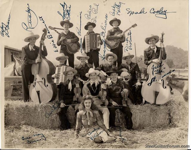 Spade Cooley And His Fiddlin' Friends - Hitsitty Hotsitty / Lucky Leather Britches