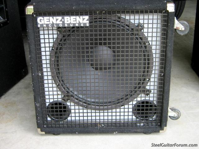 The Steel Guitar Forum :: View topic - Genz Benz 1- 15 Bass ...