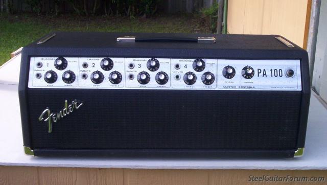 Fender Pa 100 Amp Head Vinyl Amplifier Cover Fend389 Ebay