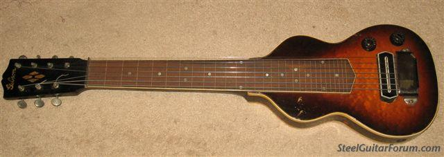 Modeles Gibson lap steel 3302_GIBSON_LAP_TOP_VIEW_1