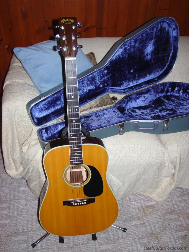 the steel guitar forum view topic vintage martin d 35 w case for sale or trade for sd10 sold. Black Bedroom Furniture Sets. Home Design Ideas