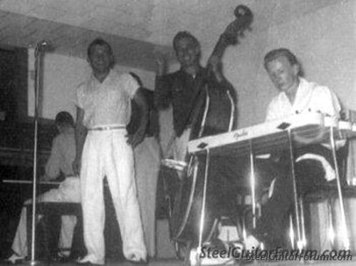 Wright 939_Jimmy_Day_with_Bill_Black_onstage_without_Elvis_circa_1955_1