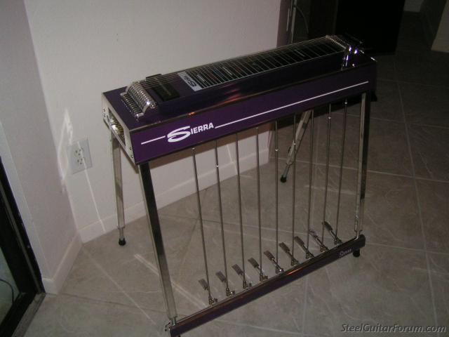 sierra12 string pedal steel for sale the steel guitar forum. Black Bedroom Furniture Sets. Home Design Ideas