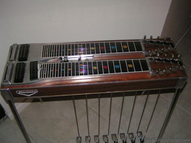 for sale 1974 emmons d 10 pedal steel the steel guitar forum. Black Bedroom Furniture Sets. Home Design Ideas