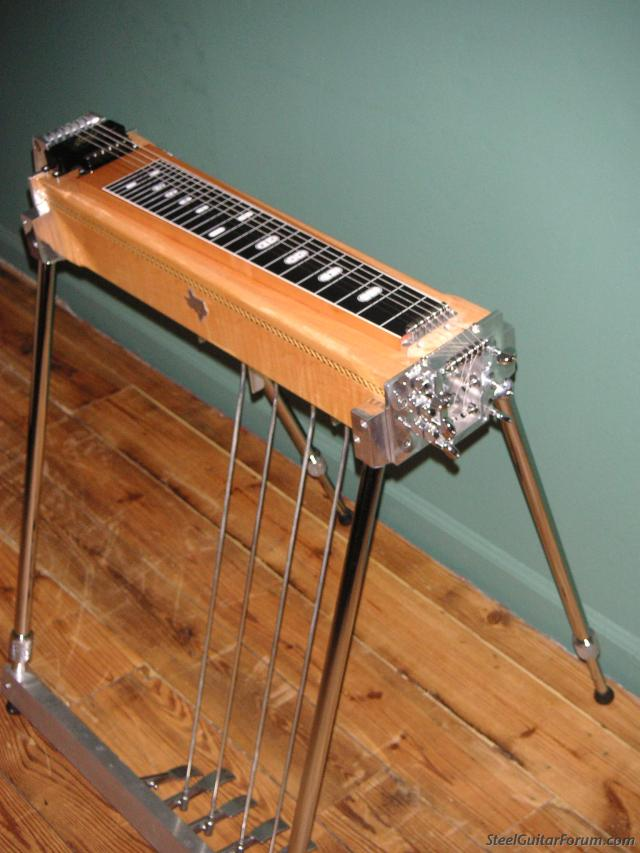 the steel guitar forum view topic sold lone star 6 lite six string pedal steel 2010. Black Bedroom Furniture Sets. Home Design Ideas