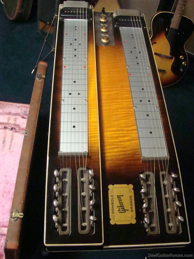 the steel guitar forum view topic near mint 1960 gibson console grande 100 original. Black Bedroom Furniture Sets. Home Design Ideas
