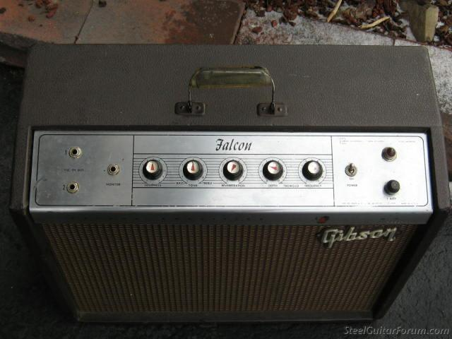 1963 gibson falcon a amp  1-12', reverb and tremlelo : the steel guitar  forum