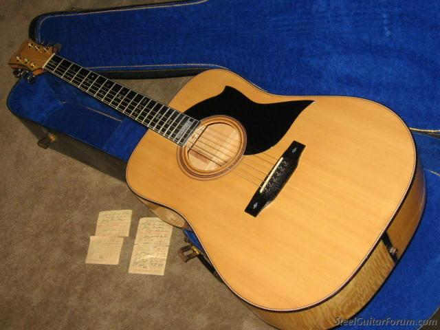 1977 GOYA Acoustic, VERY HIGH END MODEL,Rare!! BLONDE : The