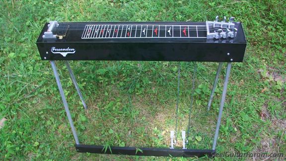 6 string fessenden pedal steel the steel guitar forum. Black Bedroom Furniture Sets. Home Design Ideas