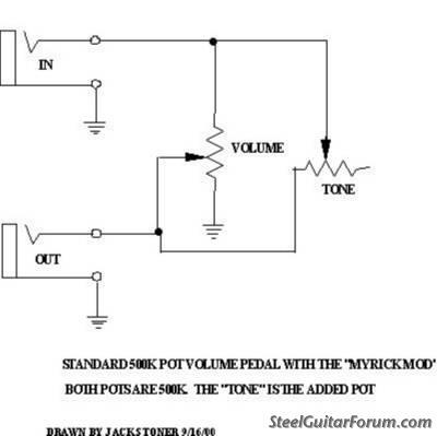 volume pedal wiring simple wiring diagram schemathe steel guitar forum view topic myrick emmons volume pedal mod ? keyboard volume pedal volume pedal wiring