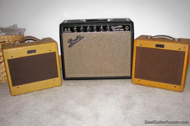 Gallerie Amplis Fender & Clones 5921_54_Prince_65_Prince_63_Champ_1