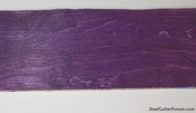purple wood dye