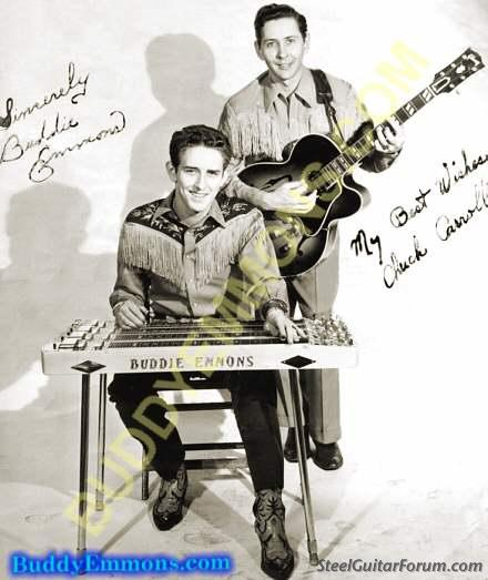 Buddy Emmons  939_buddie_emmons_and_chuck_carroll_circa_1954_1