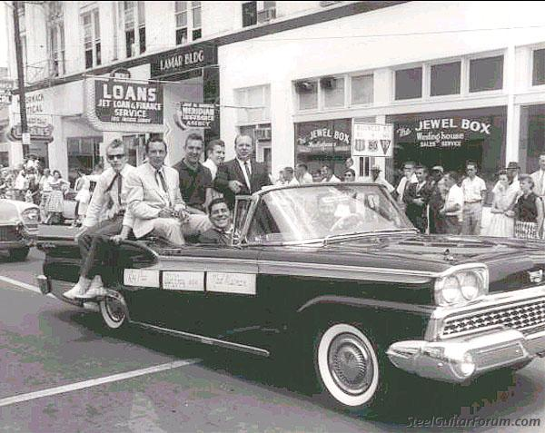 Jimmy Day 939_ray_price_and_jimmy_day_in_parade_circa_1960_1