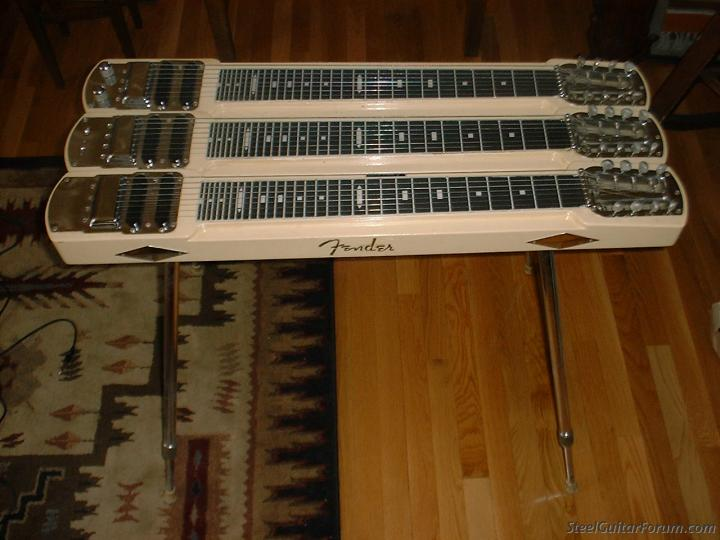 Fender Lap Steel Triple Neck The Steel Guitar Forum