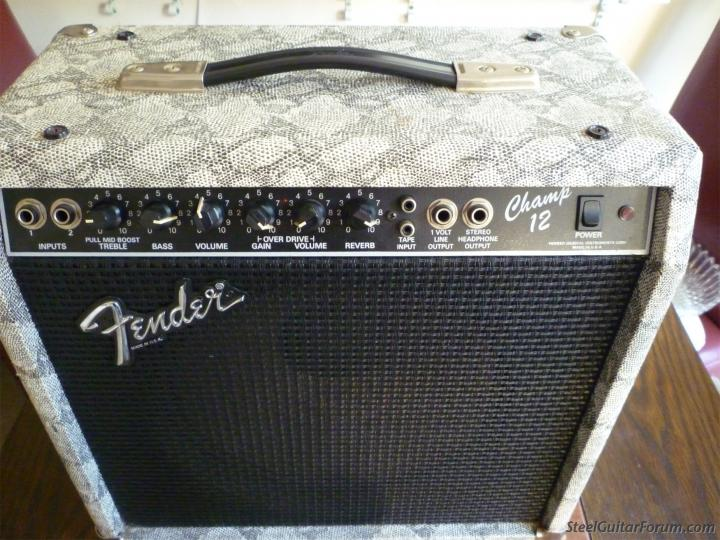 The Unique Guitar Blog: Fender's Forgotten Amps on