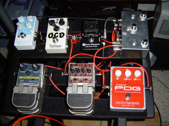 the steel guitar forum view topic steelers are allowed to have toys too pedal board pics. Black Bedroom Furniture Sets. Home Design Ideas