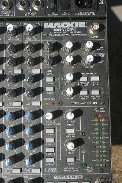 mackie 1604 vlz pro service manual