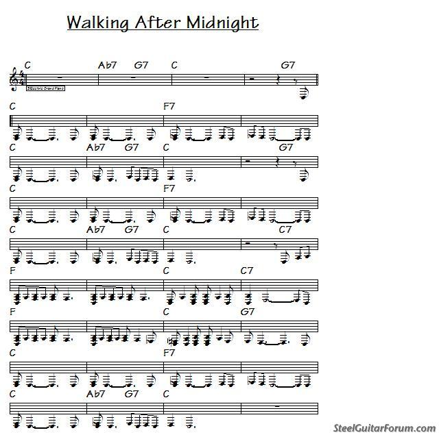 The Steel Guitar Forum :: View topic - Help for Walking After ...