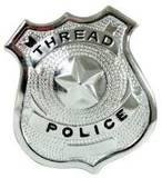 Police 4909_th_thread_police_badge_1