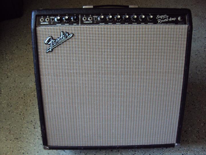 Gallerie Amplis Fender & Clones 7223_1965_or_66_Fender__Blackface_Super_Reverb_1