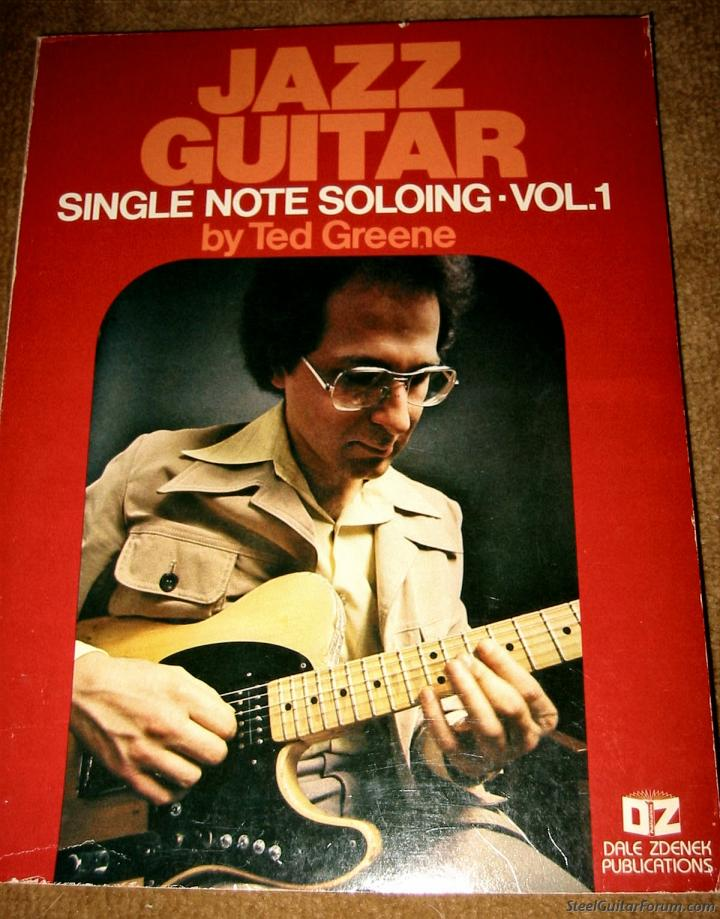 Ted greene single note soloing