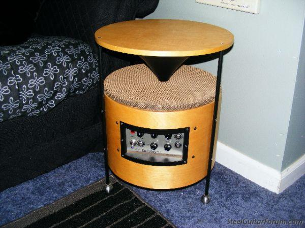 the steel guitar forum view topic coffee table amp. Black Bedroom Furniture Sets. Home Design Ideas