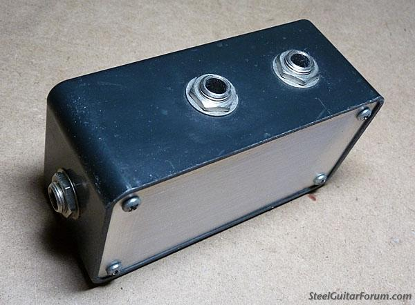 Hook up 2 amps