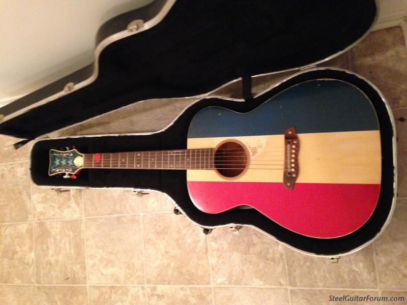 1969 Harmony American Buck Owens Acoustic 1300 Price Drop The