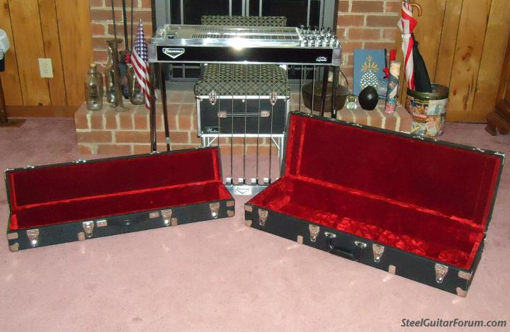 the steel guitar forum view topic custom steel guitar cases with wheels. Black Bedroom Furniture Sets. Home Design Ideas