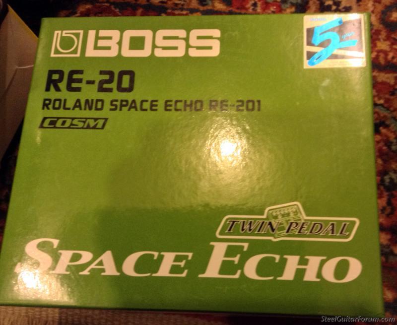 boss space echo