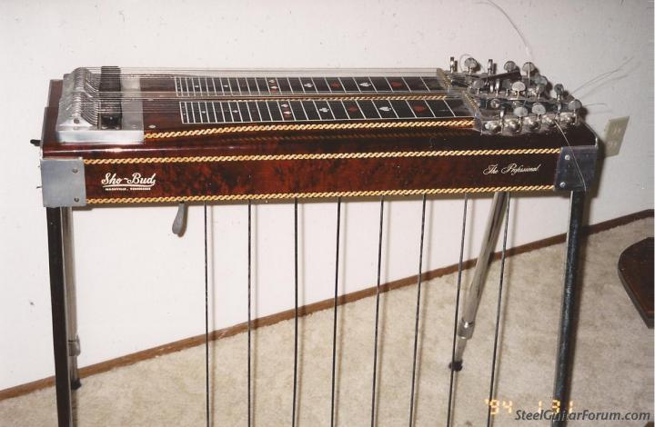 vintage sho bud pedal steel guitar the steel guitar forum. Black Bedroom Furniture Sets. Home Design Ideas