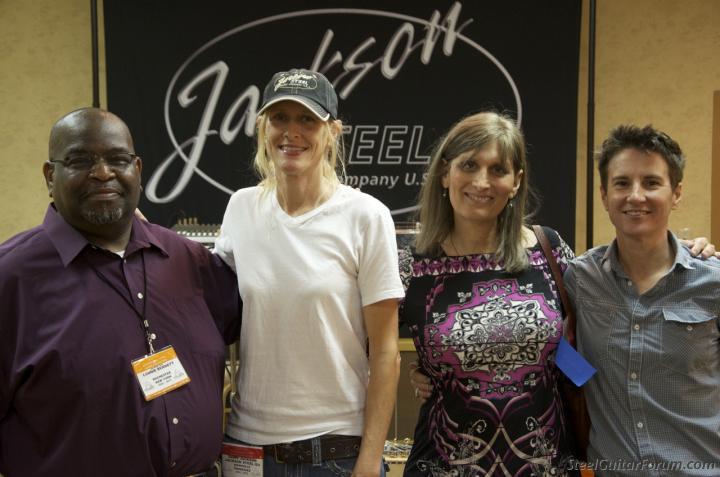 ISGC 2012 30/8 au 1/9 1785_Lonnie_Dawn_Susan_Karen_1