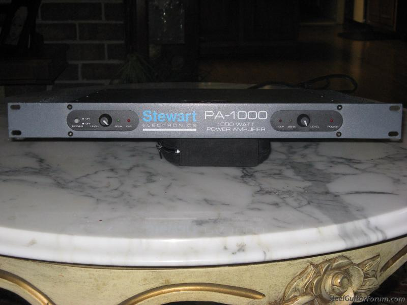 stewart pa 1000 power amp f/s or trade lower price$350 : The Steel