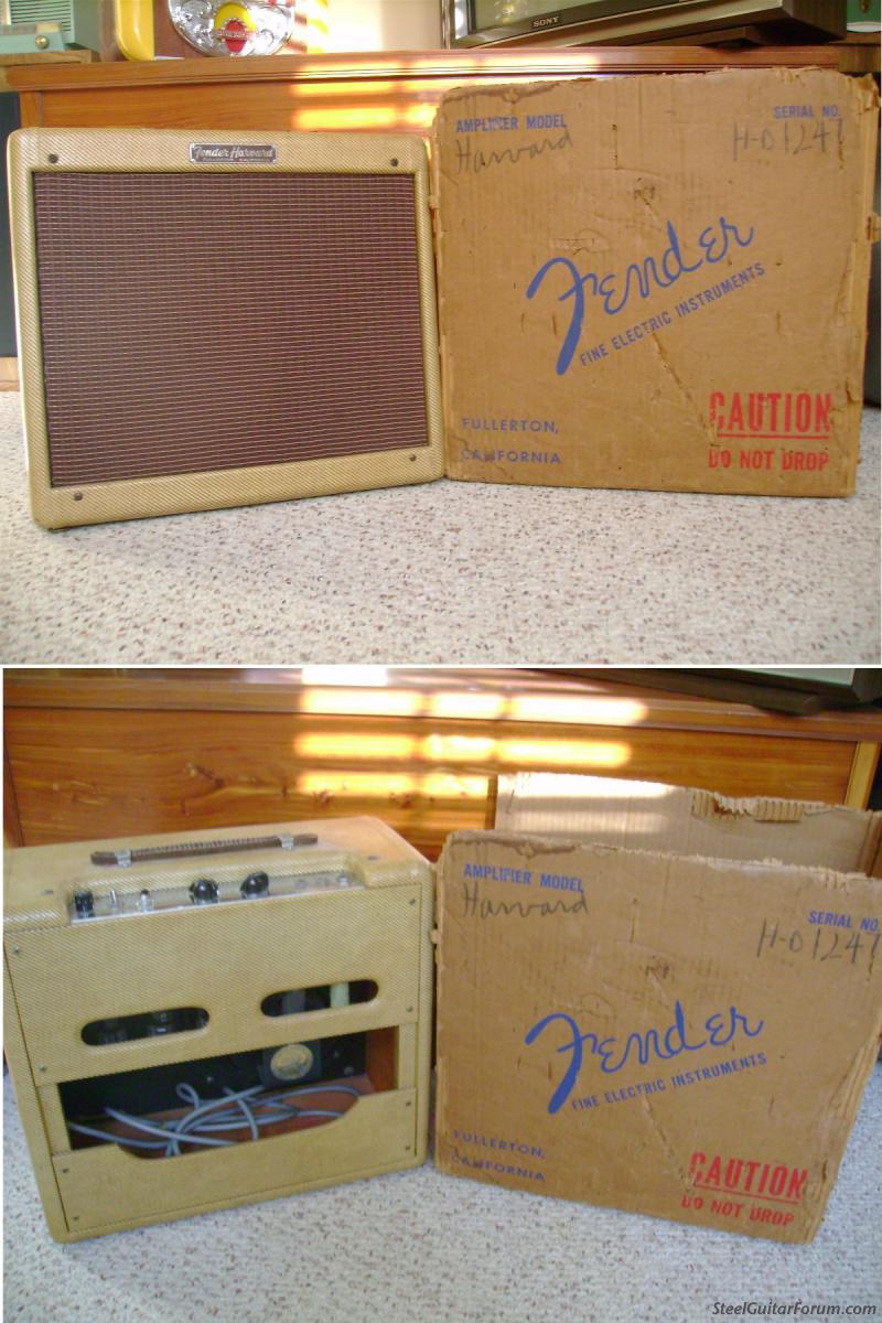 Gallerie Amplis Fender & Clones 2521_1957_Harvard_2