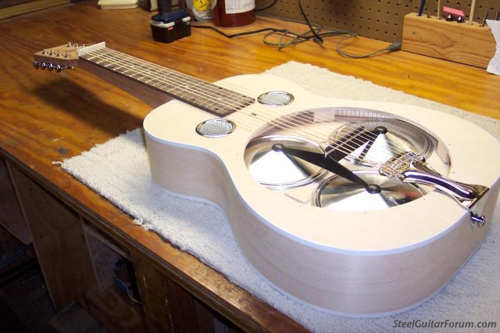 Как сделать электроакустическую гитару своими руками