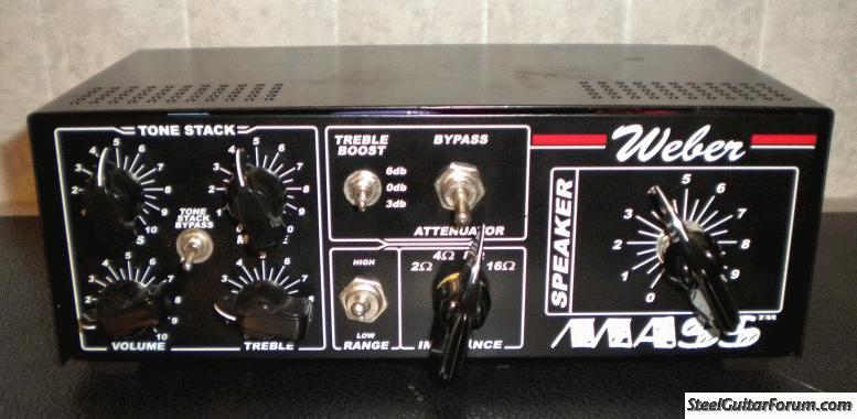 Weber Mass Attenuator for 25 watt amp : The Steel Guitar Forum
