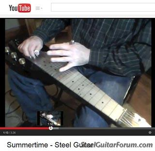 c6 pedal steel instruction