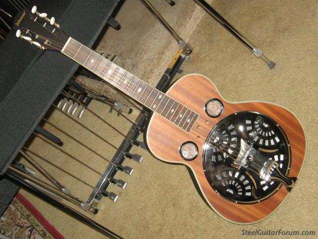 johnson dobro squareneck resonator delta blues the steel guitar forum. Black Bedroom Furniture Sets. Home Design Ideas