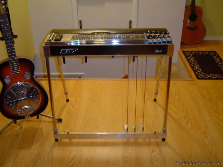 for sale jch sd 10 pedal steel guitar sold the steel guitar forum. Black Bedroom Furniture Sets. Home Design Ideas