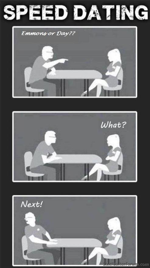 Speed-dating vs online-dating