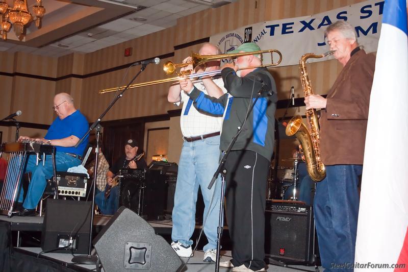 TSGA Dallas 13 / 16 Mars 2014 6926_Albert_Talley1_with_W_Swing_Band_1