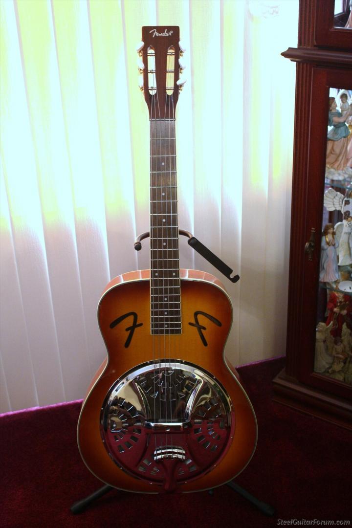 fender square neck resonator guitar sold the steel guitar forum. Black Bedroom Furniture Sets. Home Design Ideas