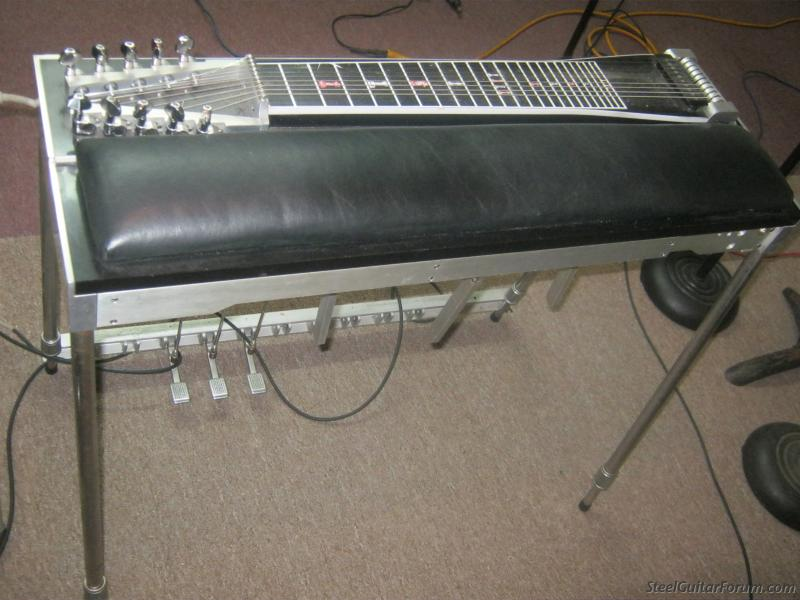 msa classic pedal steel 3 pedals 3 knee levers 950 the steel guitar forum. Black Bedroom Furniture Sets. Home Design Ideas