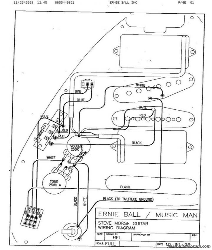 Ernie Ball Guitar Wiring Diagram