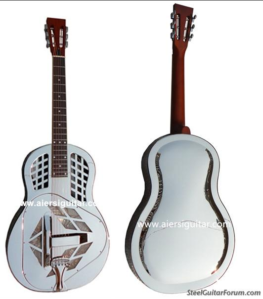 chinaaiersi metal body resonator guitar for sale with video the steel guitar forum. Black Bedroom Furniture Sets. Home Design Ideas