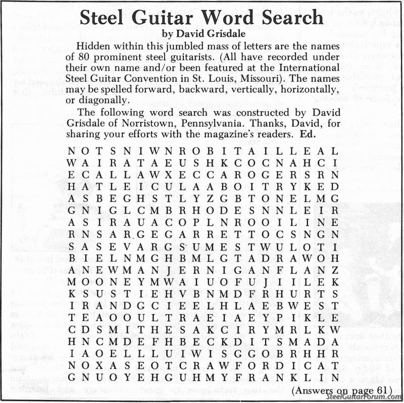 the steel guitar forum view topic steel guitar puzzle. Black Bedroom Furniture Sets. Home Design Ideas